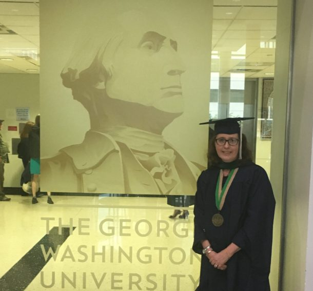 Shay Brill Earns Master's Degree in Clinical Research Administration from GWU