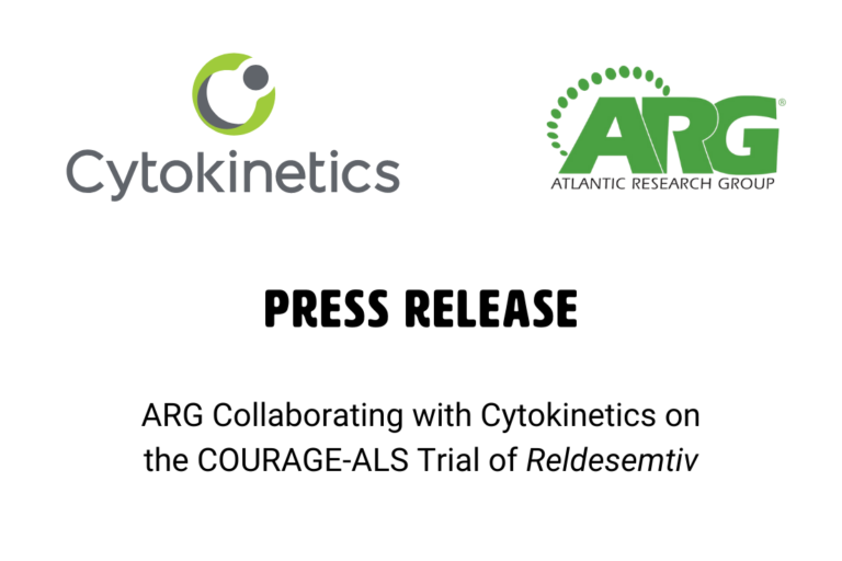 ARG Collaborating with Cytokinetics on the COURAGE-ALS Trial of Reldesemtiv